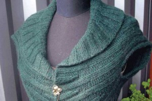 Circle Vest Knitting Pattern