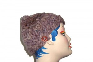 Simple Button Hat   Bulky   Beginner